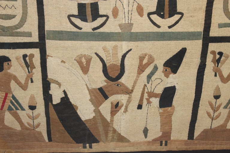 Ancient Egyptian Tomb-Cloth Fragment