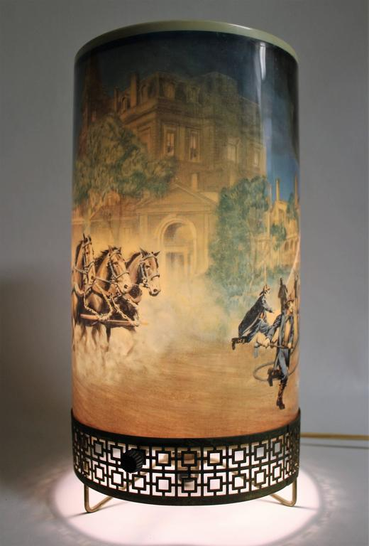 Fireman Motion Lamp By La Goodman For Sale At 1stdibs
