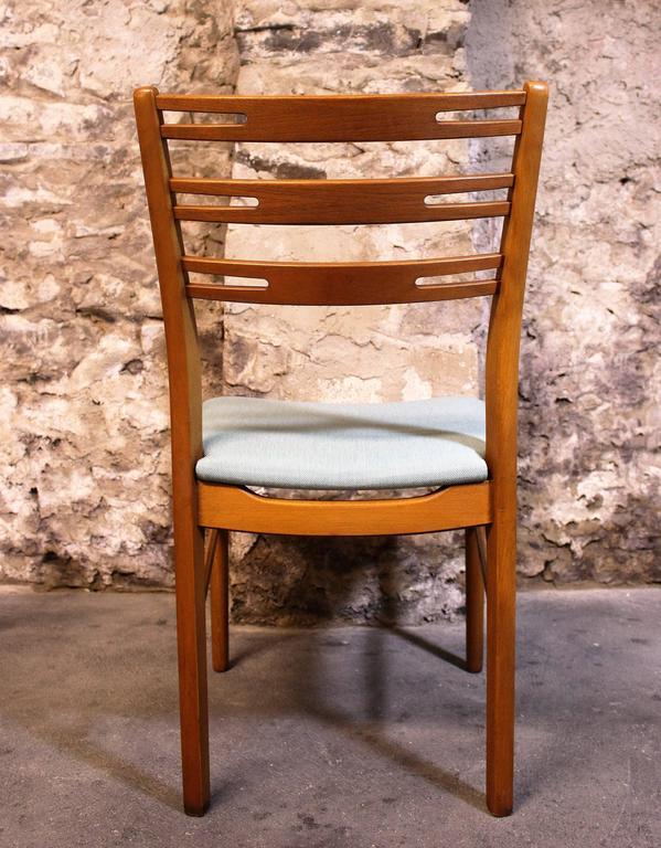 Six Danish Modern Teak And Walnut 39 Farstrup 39 Dining Chairs For Sale A