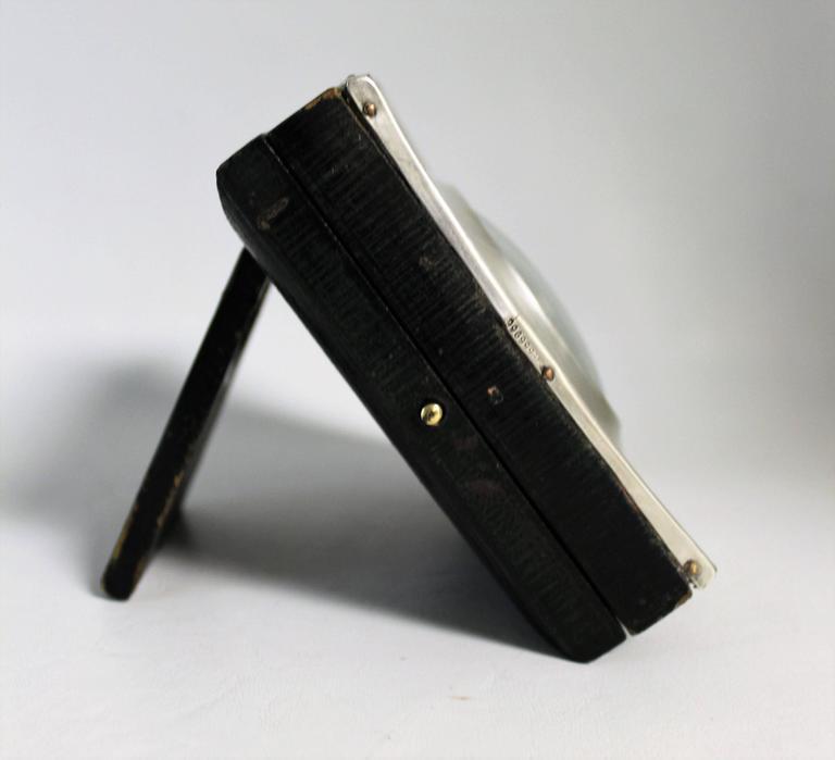 British Short & Mason Barometer in Sterling Silver Case For Sale
