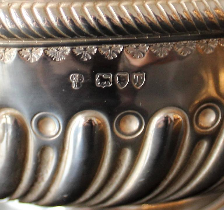 19th Century Charles Stuart Harris Sterling Silver Presentation Bowl For Sale