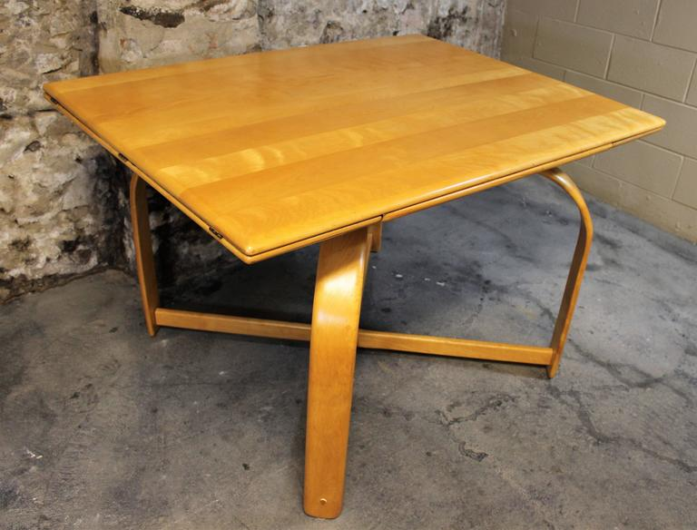 Gilbert Rohde Art Deco Dining Table For Heywood Wakefield