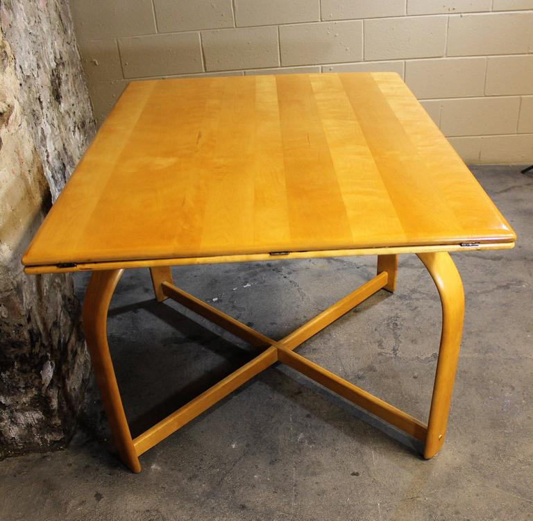rohde art deco dining table for heywood wakefield for sale at 1stdibs