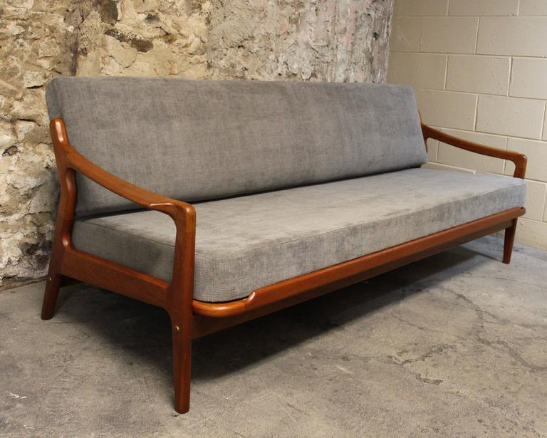 arne wahl iversen danish teak daybed and sofa at 1stdibs. Black Bedroom Furniture Sets. Home Design Ideas