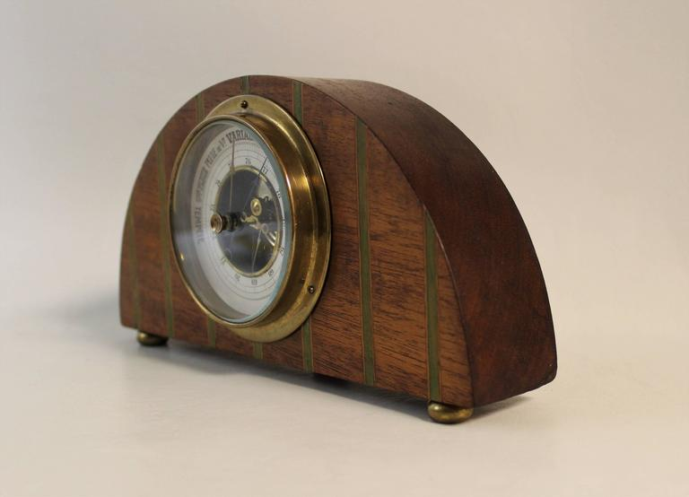 Art Deco French barometer.
