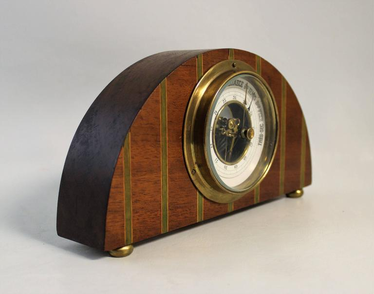 Art Deco French Barometer In Excellent Condition For Sale In Hamilton, Ontario