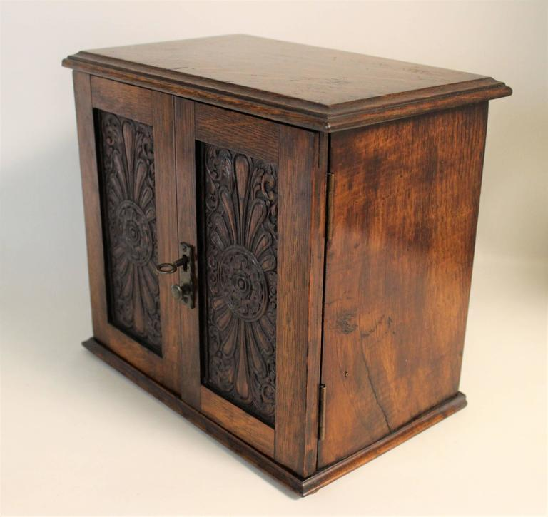 Edwardian smokers cabinet for sale at stdibs
