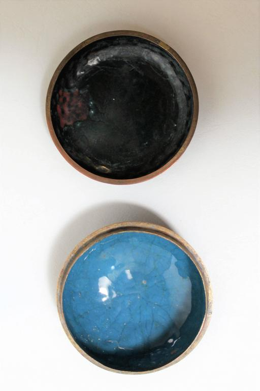 Japanese Meiji Period Cloisonne Trinket Or Pill Box For
