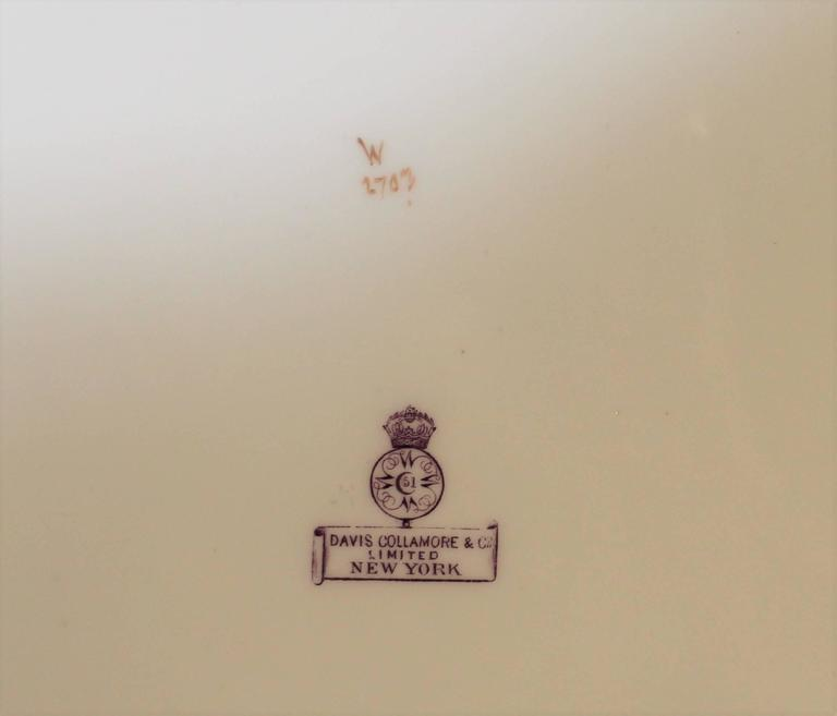 Royal Worcester Porcelain Platter with Pheasants For Sale 2