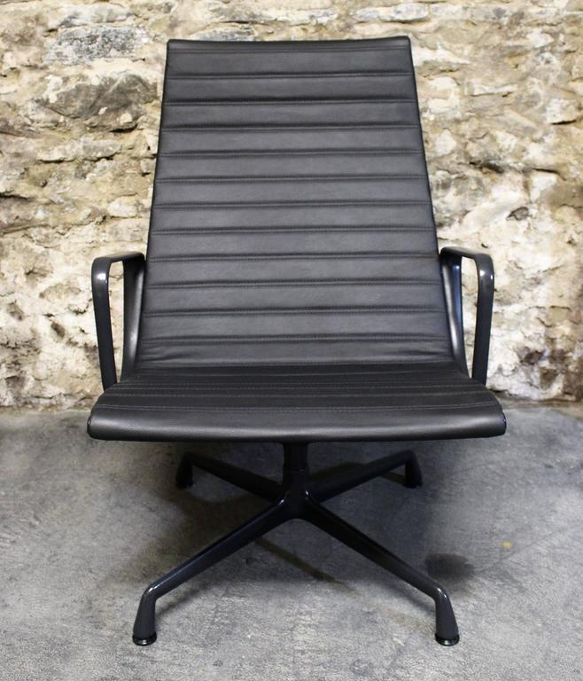 Eames Leather Lounge Chair for Herman Miller 3