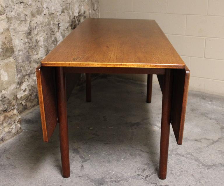 Børge Mogensen Danish Teak Fredericia Drop-Leaf Dining Table 3
