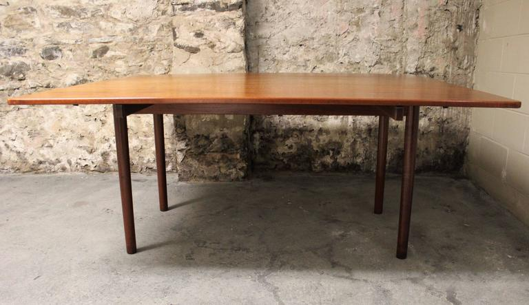 Børge Mogensen Danish Teak Fredericia Drop-Leaf Dining Table 6
