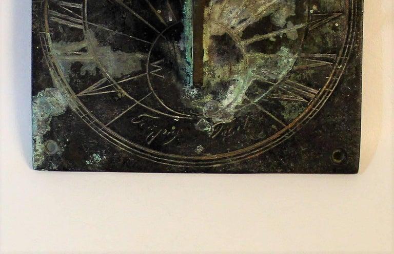 19th Century Bronze Sundial For Sale 2