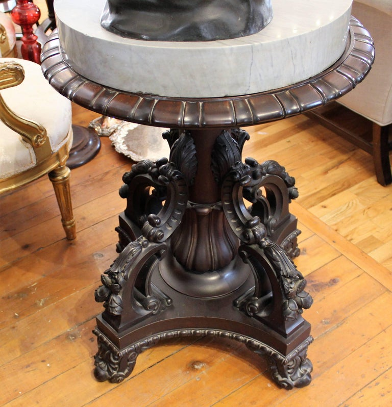 Large 19th Century Italian 'Spinario' Bronze Sculpture on Stand  For Sale 4