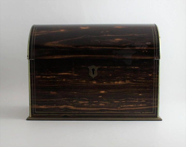 19th century wood stationery box.