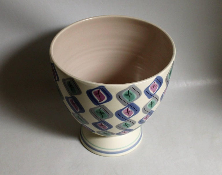 Ruth Pavely Mid Century Modern Free Form Poole Pottery Vase In