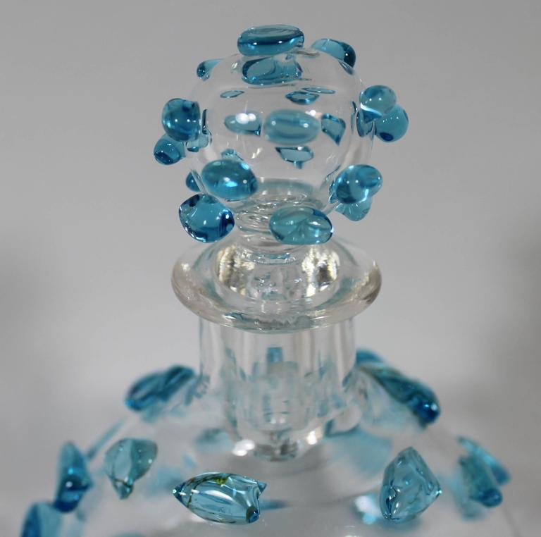 Salviati Italian Murano Glass Perfume Bottle, Mid-Century ...