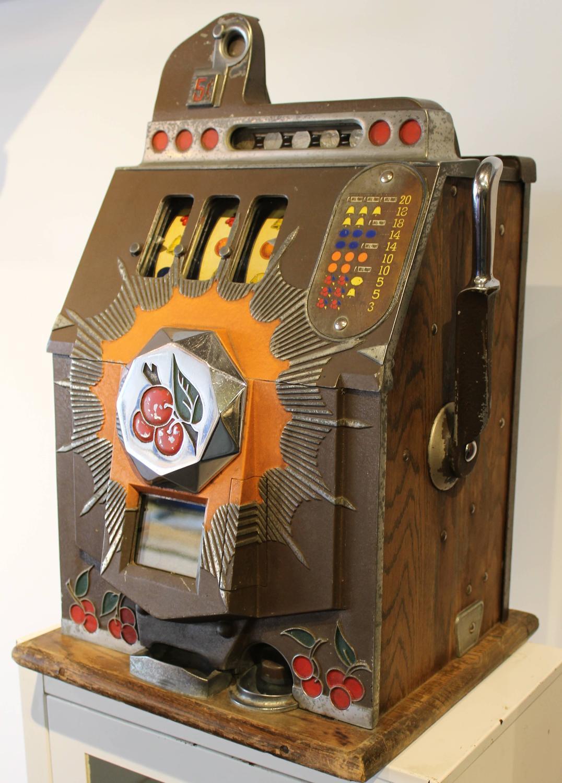 Antique slot machine for sale canada