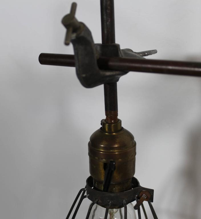 Industrial Lighting Hamilton: Industrial Steampunk Lamp For Sale At 1stdibs