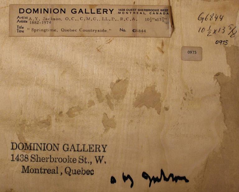 A.Y. Jackson Painting In Excellent Condition In Hamilton, Ontario