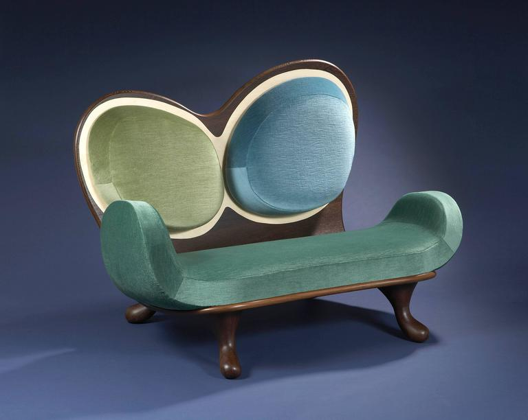 French Surf Sofa by Mattia Bonetti.  In stock For Sale
