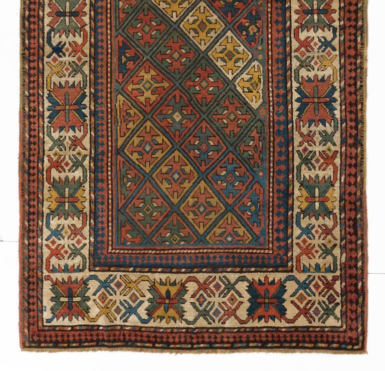 Armenian Antique Rugs: Antique Caucasian Armenian Kazak Rug For Sale At 1stdibs