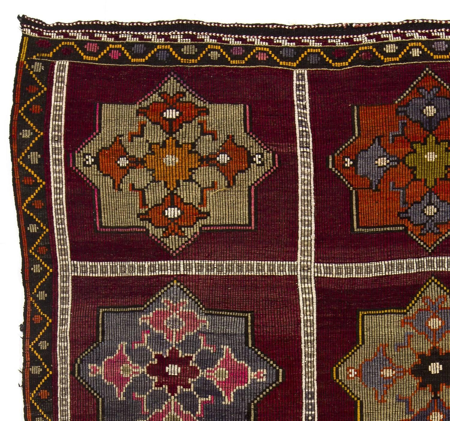 Vintage Anatolian Kilim Rug For Sale At 1stdibs