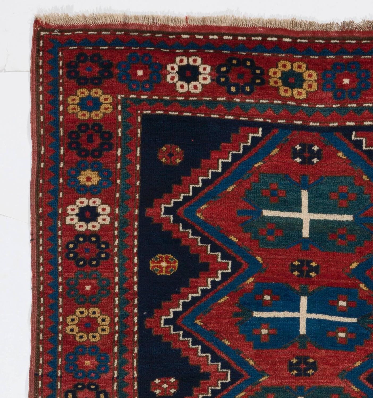Armenian Antique Rugs: Antique Armenian Kazak Rug From Southern Caucasus For Sale