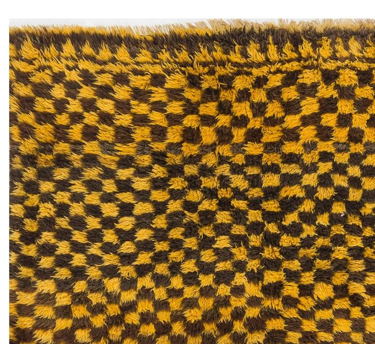 A vintage hand-knotted