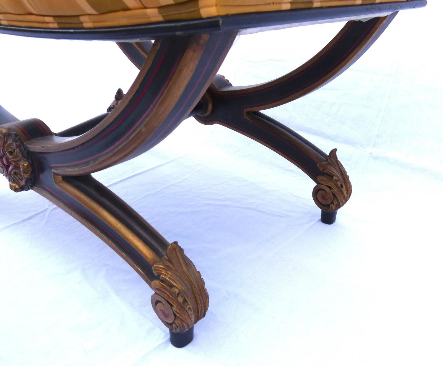 Of Napoleon III Period Carved And Painted Wood X Stools At 1stdibs. Full resolution‎  picture, nominally Width 1500 Height 1238 pixels, picture with #136AB8.