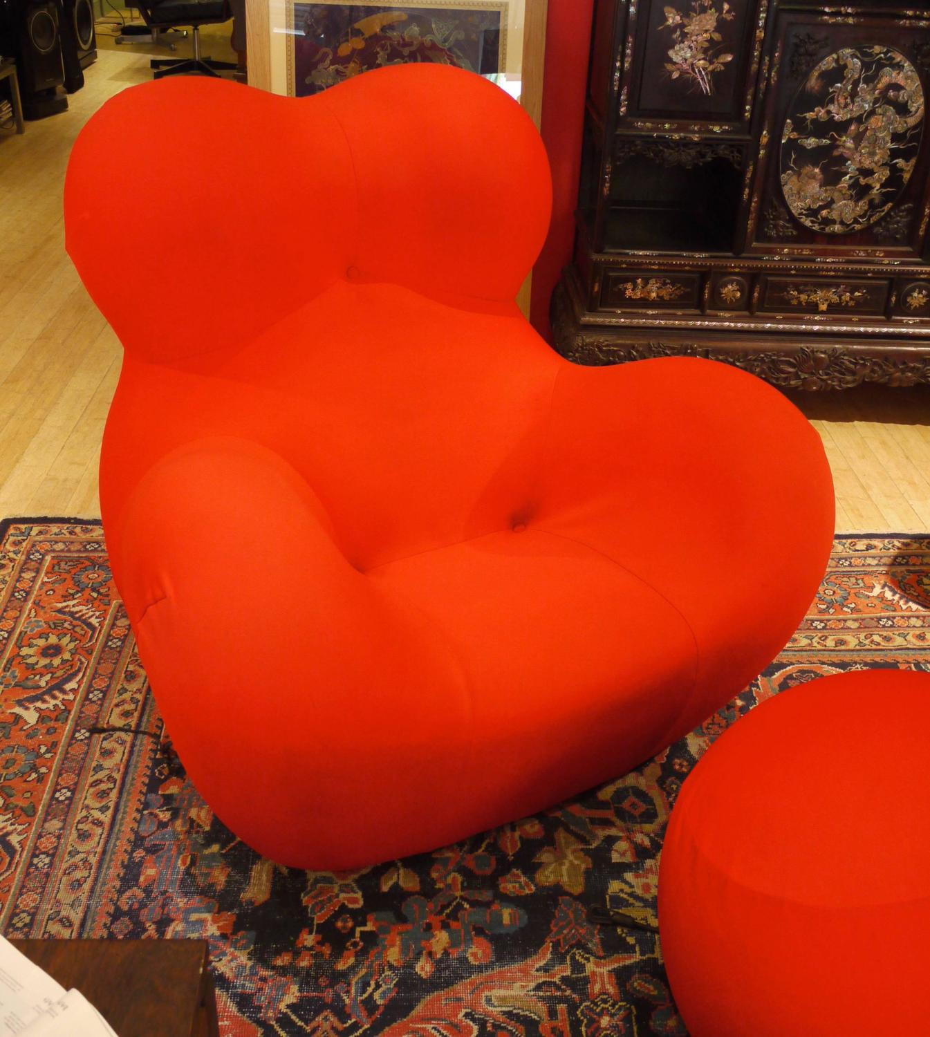 Gaetano Pesce Quot Big Mama Quot Chair And Ottoman B And B Italia