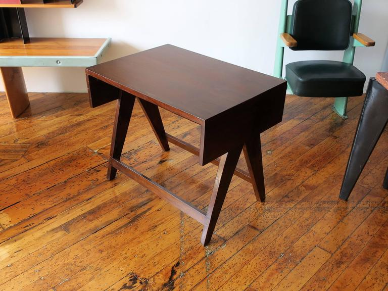 Indian PIERRE JEANNERET Desk from the Administrative Building of Chandigarh For Sale