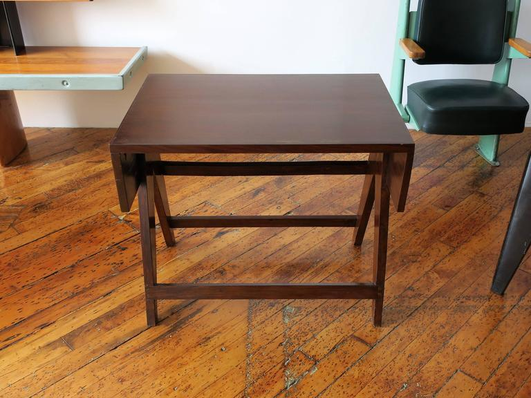 Mid-Century Modern PIERRE JEANNERET Desk from the Administrative Building of Chandigarh For Sale