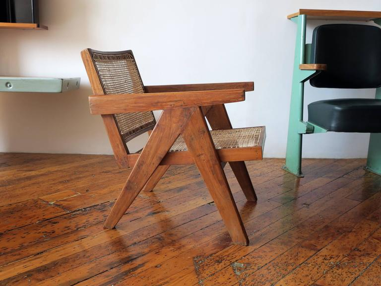 Easy Armchair by Pierre Jeanneret at 1stdibs