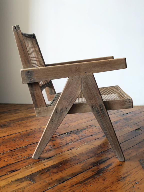 Pierre Jeanneret Easy Armchair, circa 1955 2