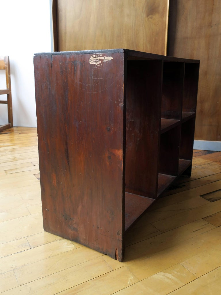 Pierre Jeanneret File Rack from Chandigarh In Excellent Condition For Sale In Brooklyn, NY