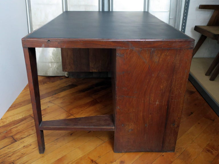 Indian Pierre Jeanneret Desk from the Administrative Buildings, Chandigarh For Sale