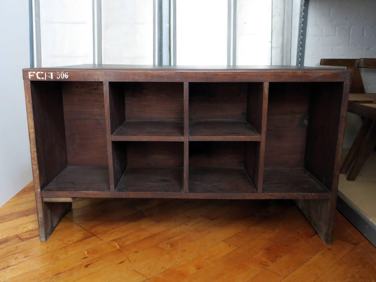Mid-Century Modern Pierre Jeanneret Desk from the Administrative Buildings, Chandigarh For Sale