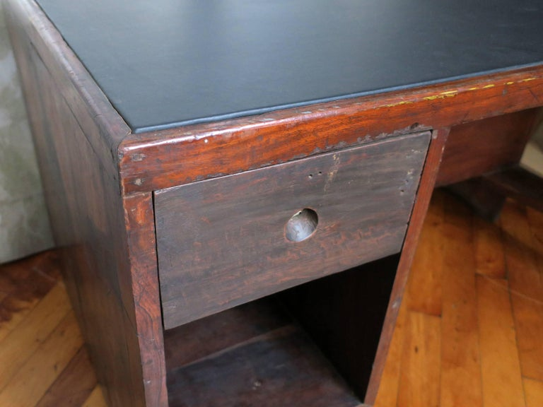 20th Century Pierre Jeanneret Desk from the Administrative Buildings, Chandigarh For Sale
