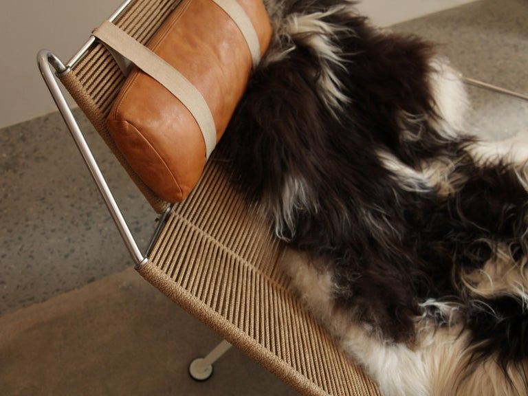 Hans Wegner, Flag Halyard Lounge Chair, circa 1950 In Excellent Condition For Sale In Brooklyn, NY