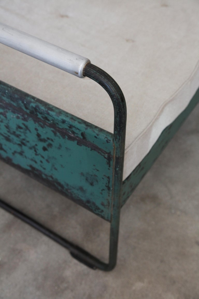 Mid-Century Modern Jean Prouvé, Bed No.17, circa 1935 For Sale