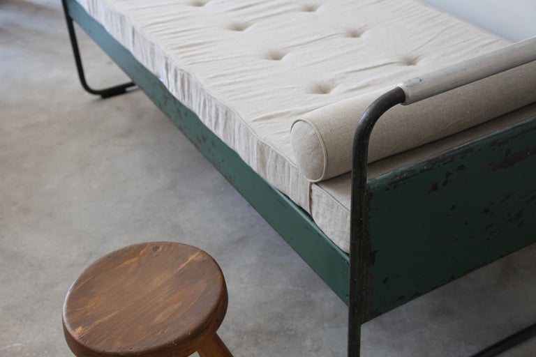 20th Century Jean Prouvé, Bed No.17, circa 1935 For Sale