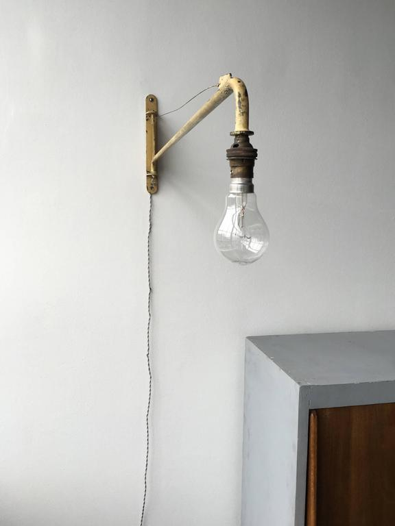 Jean Prouvé Swing Jib Wall Light from the Congo  5