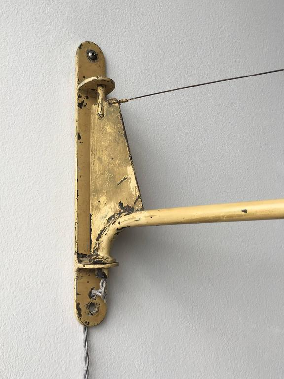 Jean Prouvé Swing Jib Wall Light from the Congo  3