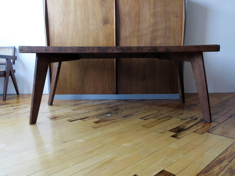 Pierre Jeanneret Dining Table from Chandigarh 2