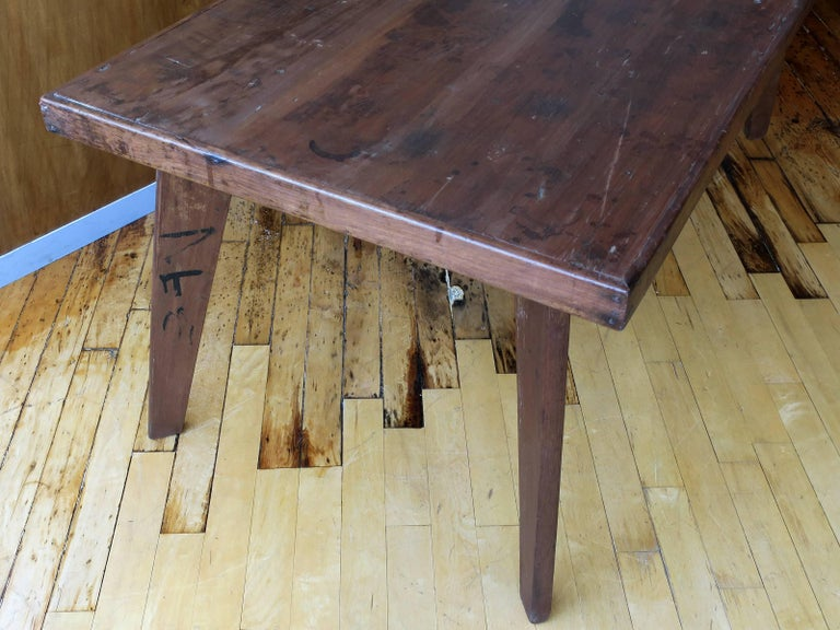 Pierre Jeanneret Dining Table from Chandigarh In Excellent Condition For Sale In Brooklyn, NY