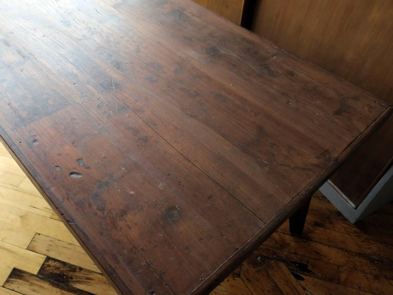 Pierre Jeanneret Dining Table from Chandigarh For Sale 1