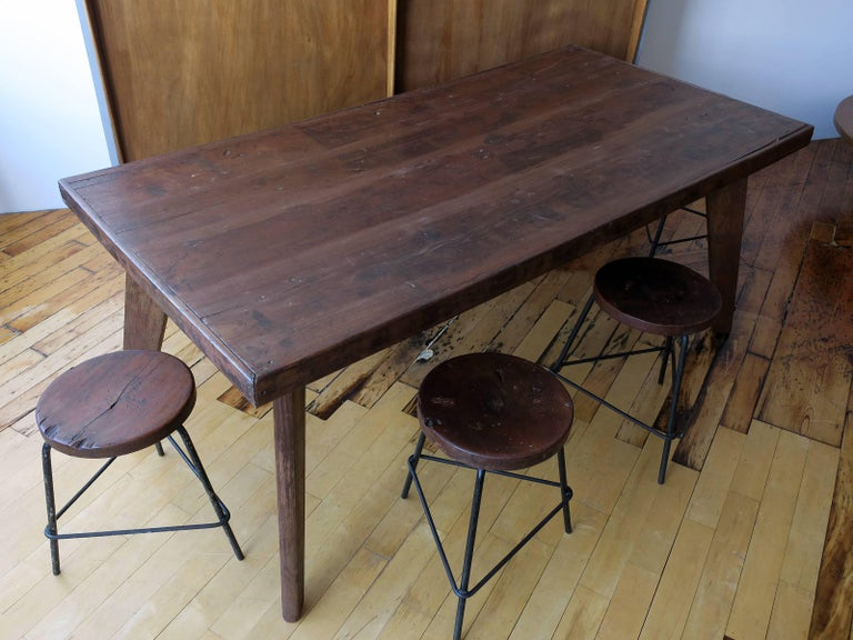 Pierre Jeanneret Dining Table from Chandigarh For Sale 2