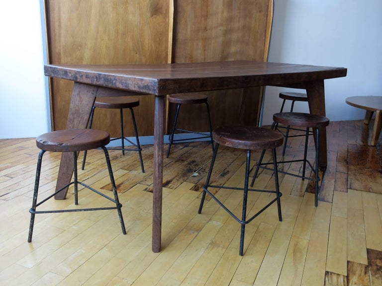 Pierre Jeanneret Dining Table from Chandigarh For Sale 3