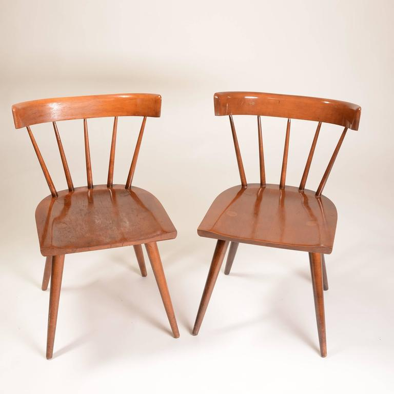 Set of Two Planner Group Dining Chairs by Paul McCobb for